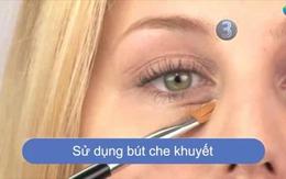 Cách che vết quầng thâm trên mắt